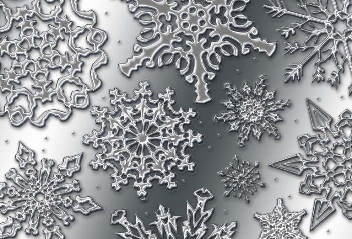 shutterstock 2117228 700x477 Фон с снежинками   Background with snowflakes