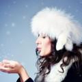 Девушка в меховой шапке - Girl in a fur hat