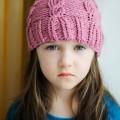Девочка в шапке - Girl in a cap