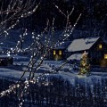 Дом зимой - House in winter