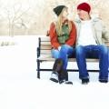 Пара на лавочке - Couple on the bench