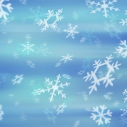 Фон со снежинками - Background with snowflakes