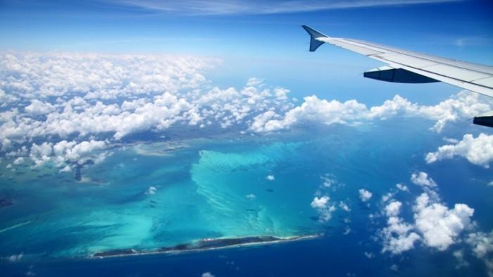картинки самолёта в небе