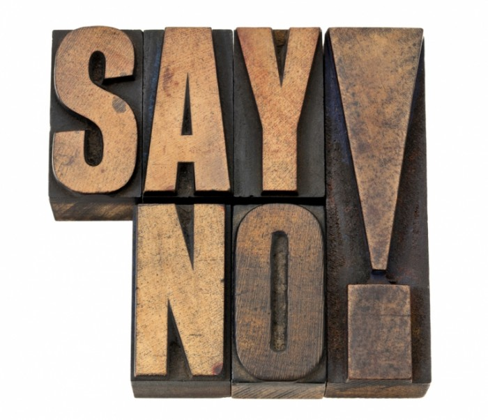 shutterstock 101340577 700x603 Скажи нет   Say no
