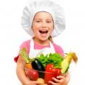 Девочка с овощами - Girl with vegetables
