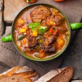 Суп и хлеб - Soup and bread