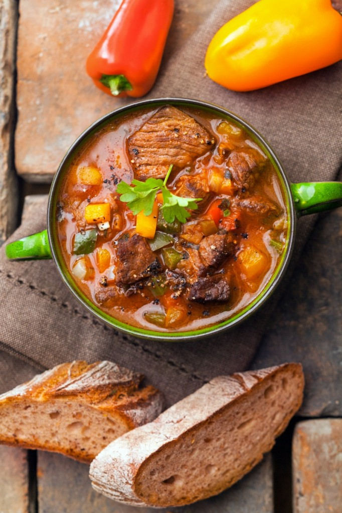 shutterstock 153403289 682x1024 Суп и хлеб   Soup and bread