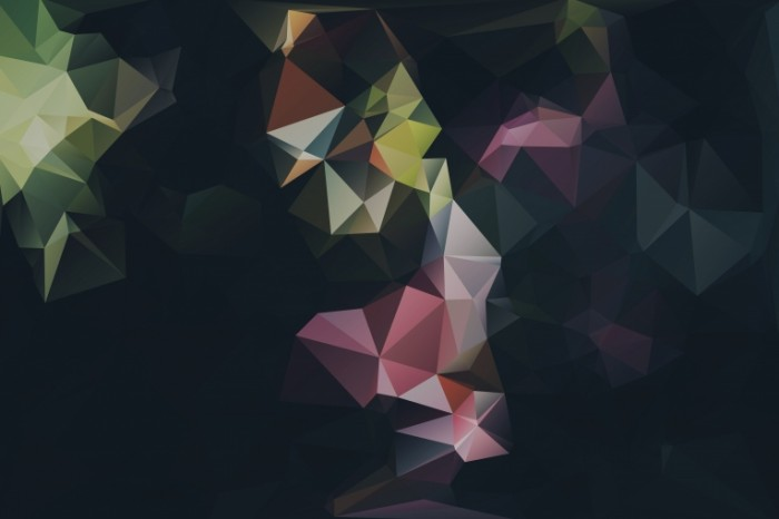 SplitShire lowpoly I 700x466 Абстракция цветы   Abstraction flowers