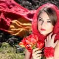 Girl in red - Девушка в красном