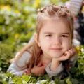 Child on the grass - Ребенок на траве