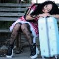 Girl with suitcase - Девушка с чемоданом