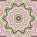 Mandala brownpink - Розовая мандала