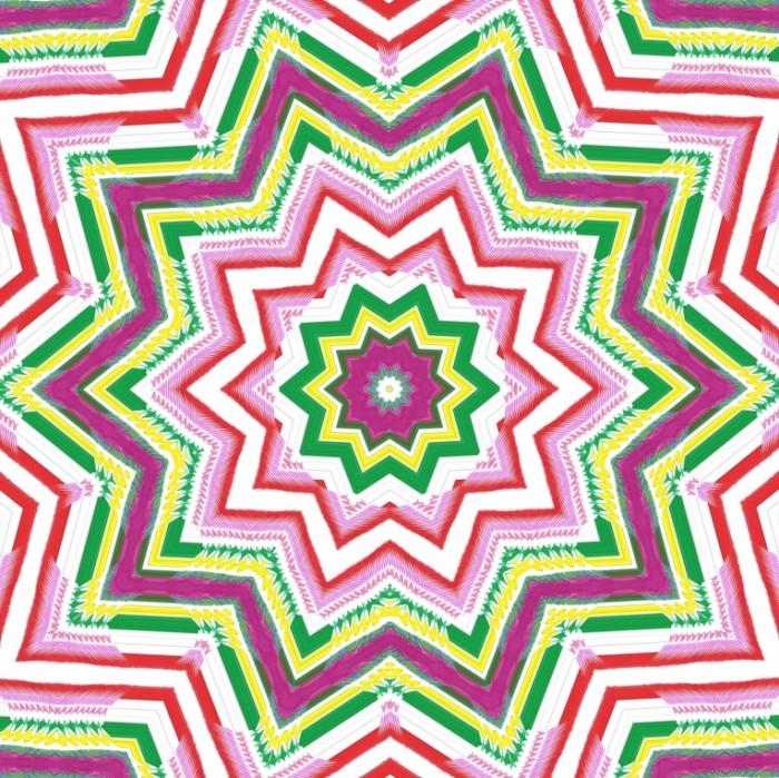 mandalabrownpink3 700x699 Mandala brownpink   Розовая мандала