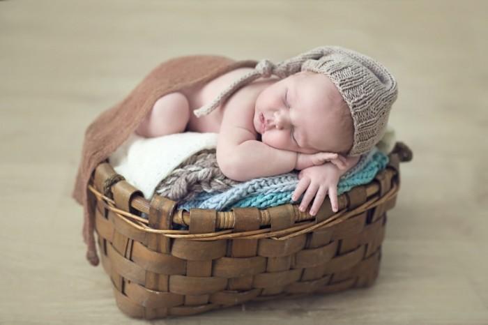 387b1fb6d3e627d 700x466 Ребенок в корзине   Baby in the basket