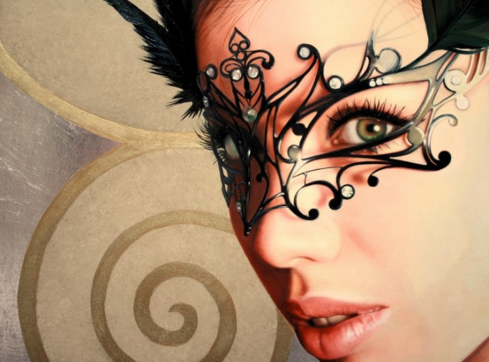 cb5dbb54551d0a3 700x518 Девушка в маске   Girl in the mask