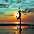 Девушка в море - Girl in the sea