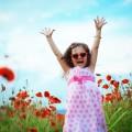 Девочка в цветах - Girl in flowers