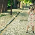 Девочка с фотокамерой - Girl with camera