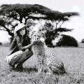 Девушка с леопардом - The girl with the leopard
