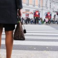 Women with bag - Женщина с сумкой