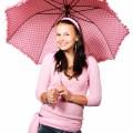 Девушка с розовым зонтом - Girl with an pink umbrella