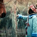 Ребенок зимой - Child in the winter