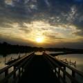 Pierce on the river - Пирс на речке