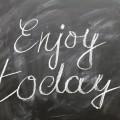 Наслаждайся сегодняшним днем - Enjoy today