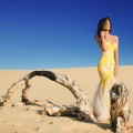 Girl in the desert - Девушка в пустыне