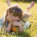 Ребенок с игрушкой - A child with a toy