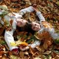 Дети в листьях - Children in the leaves