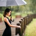 Девушка под дождем - Girl in the rain