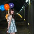 Девушка с воздушными шарами - Girl with baloons