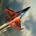 Самолет в воздухе - A plane in the air
