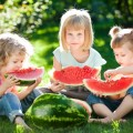 Дети с арбузом - Children with a watermelon