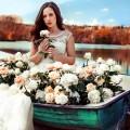 Девушка в лодке - Girl in a boat