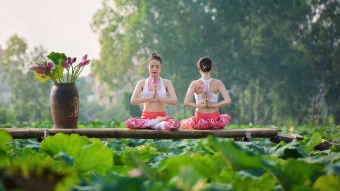 devushki aziatki yoga leto 700x393 Йога   Yoga