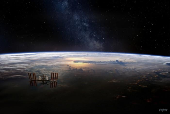 mezhdunarodnaya kosmicheskaya 5273 700x473 Космос   Cosmos