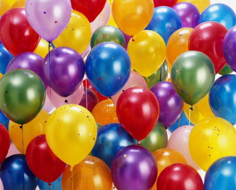 Открытки с воздушными шарами 97