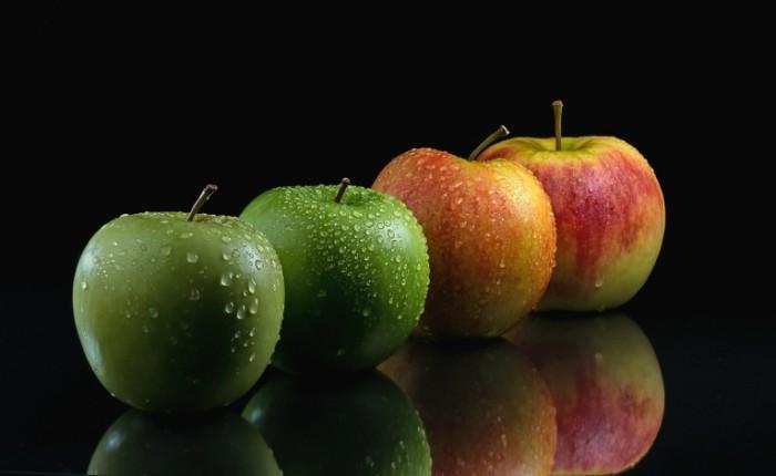 yabloki frukty plody kapli 700x430 Яблоки   Apples