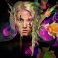 Блондинка и розы - Blonde Girl Roses