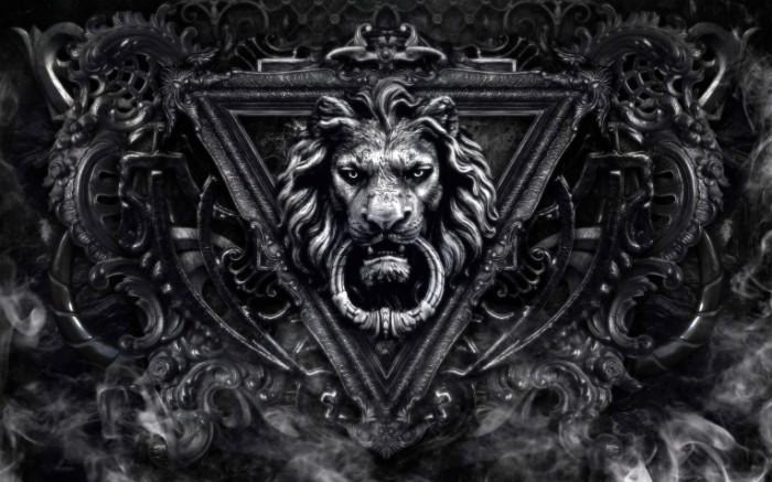 Lion door knocker 700x437 Лев дверь   Lion door knocker
