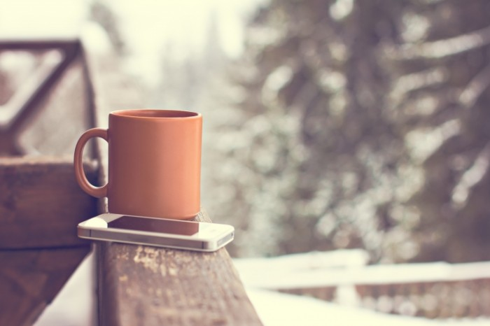 coffee cup hot winter snow 381 700x466 Чашка кофе   Cup of coffee