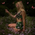 Девушка бабочки - butterfly girl
