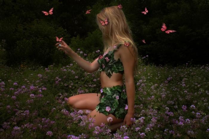 devushka babochki butterfly girl 4272    2848 700x466 Девушка бабочки   butterfly girl