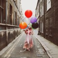 Девушка с шариками - Girl with balloons