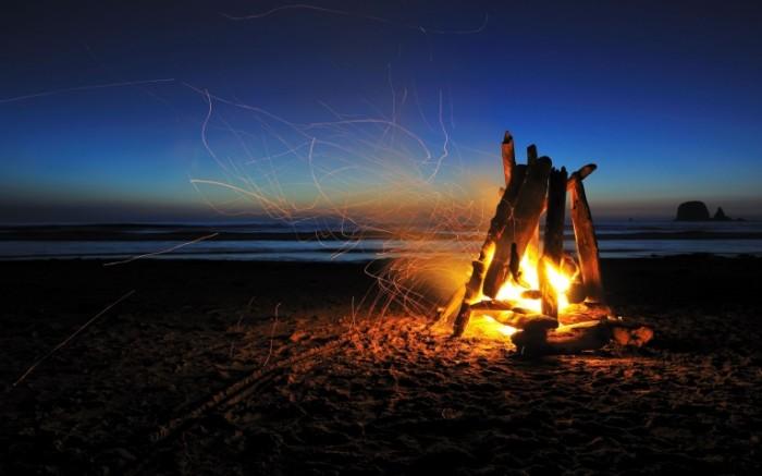 nastroenie makro priroda 700x437 Костер на природе   Campfire in nature
