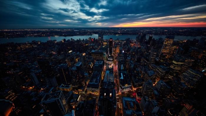 new york sunset big apple 700x393 Нью Йорк   New York