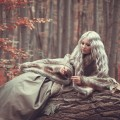 Блондинка в лесу - Blonde in the wood