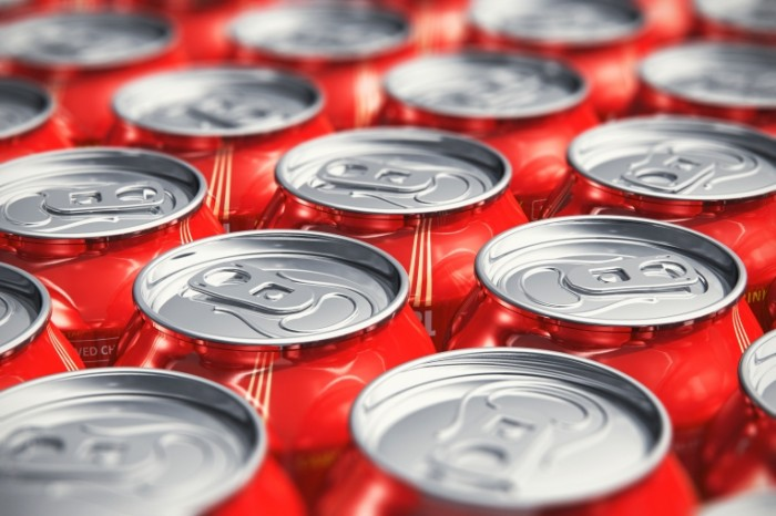 cans soda aluminum 700x466 Содовая   Soda